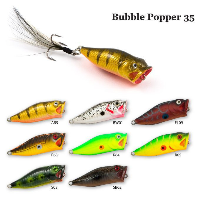 Воблер Raiden Bubble Popper 35 2,1 гр. АВ5