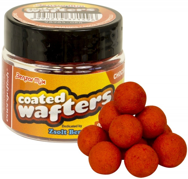 Бойлы Benzar Mix Wafters Coated 8mm Chocolate-Orange 30ml