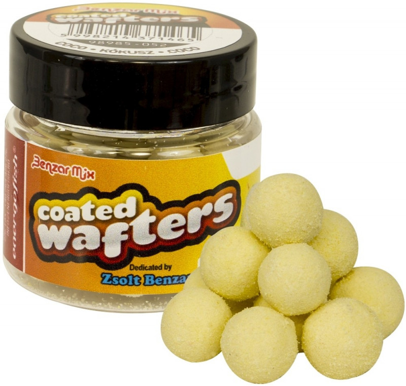 Бойлы Benzar Mix Wafters Coated 8mm Coco-White 30ml